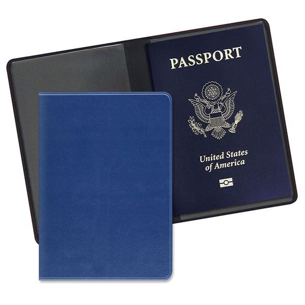 Economy Passport Case Executive Blue