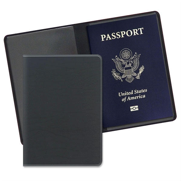 Economy Passport Case Executive Black