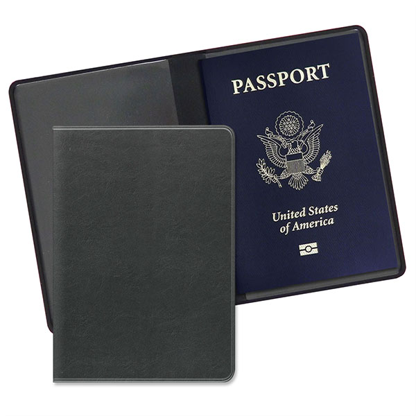 Economy Passport Case Premium Black Matador