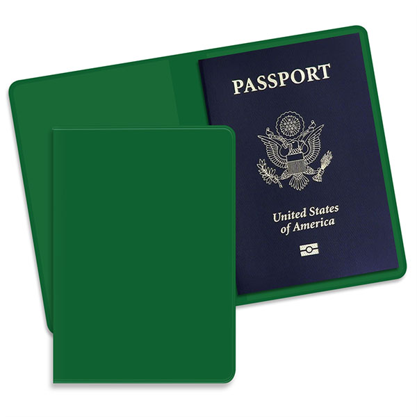 Economy Passport Case Green