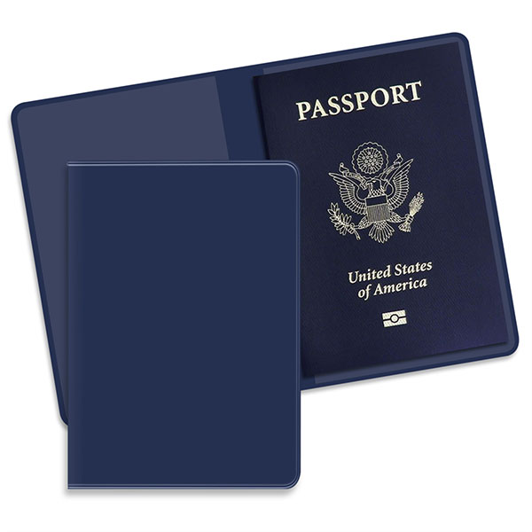 Economy Passport Case Navy
