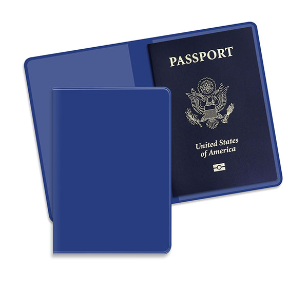 Economy Passport Case Royal