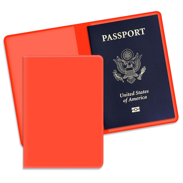 Economy Passport Case Orange