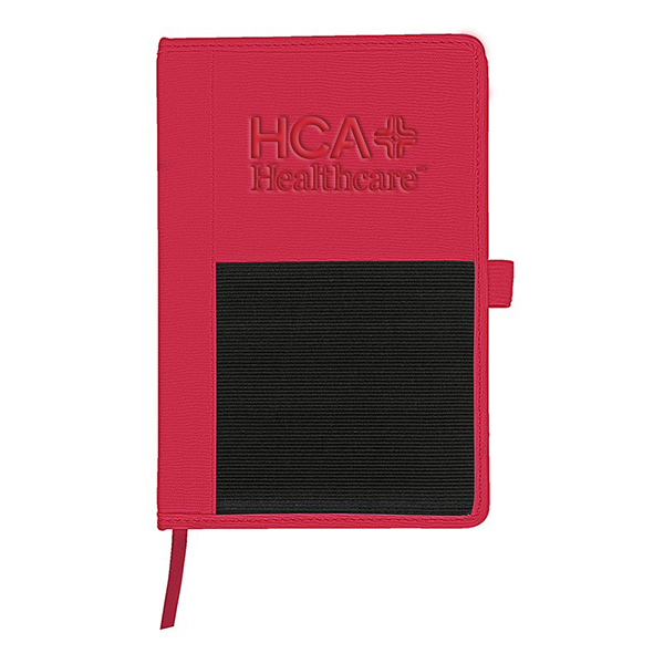 Roma Journal with Multi-Use Elastic Pocket
