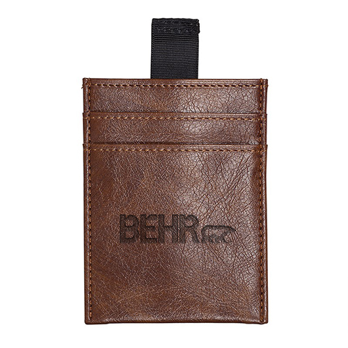 Sorrento RFID Wallet with Pull Tab  Brown