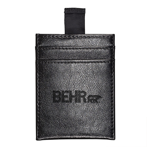 Sorrento RFID Wallet with Pull Tab  Black
