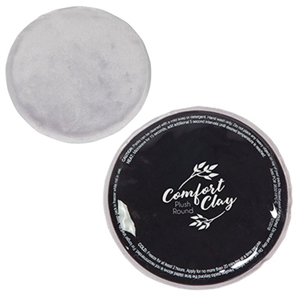 ComfortClay® Plush Round Hot/Cold Pack