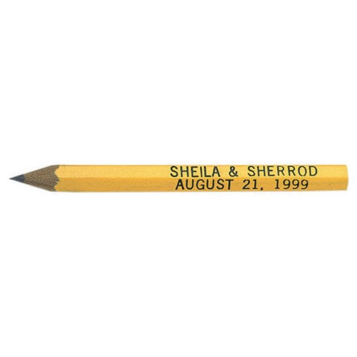 Golf Pencil Hex Yellow