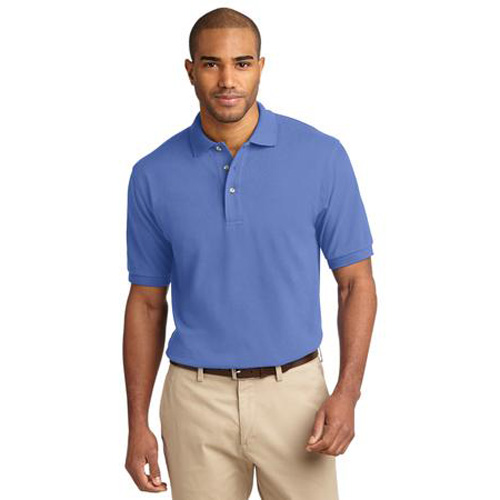 Men's Pique Knit Sport Shirt by Port Authority Blueberry