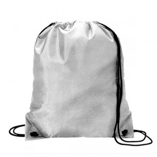Drawstring Sport Pack Silver