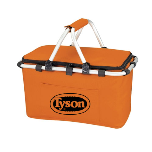 Koozie Picnic Basket Orange