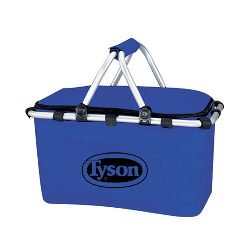 Koozie Picnic Basket Royal