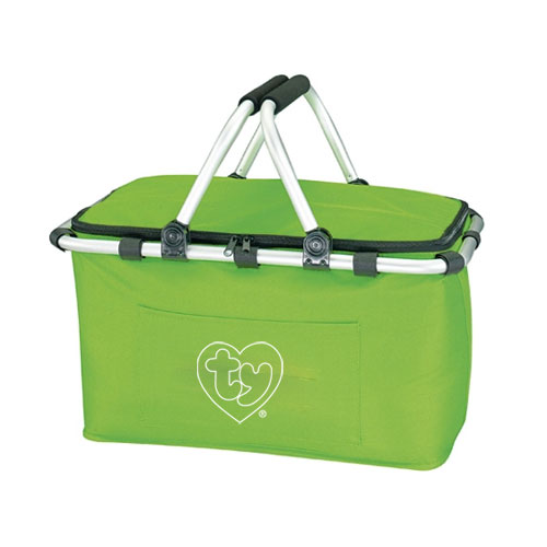 Koozie Picnic Basket Lime Green