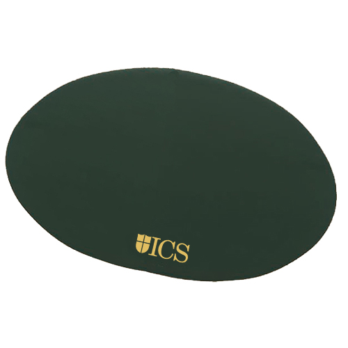 Oval Board of Directors Placemat Forest Green