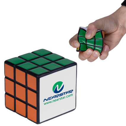 Promotional Rubik's Cube Stress Reliever