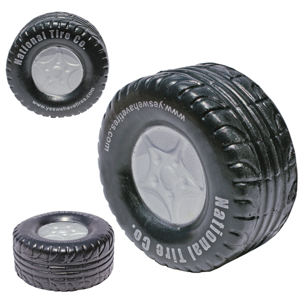 Promotional Tire Stress Ball