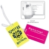 Recycled Colored Kwik-Seal® Luggage Tag