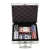 Poker Set in Aluminum Case with 100 Chips