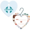 Large Pet ID Tag - Heart