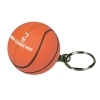 Basketball Squeezie Key Ring