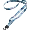 Dye-Sublimated Polyester Lanyard with O-ring Attachment 1/2 Inch