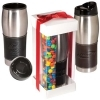 Leather-Wrapped Tumbler with M&M® Set