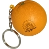 Orange Key Chain Stress Reliever